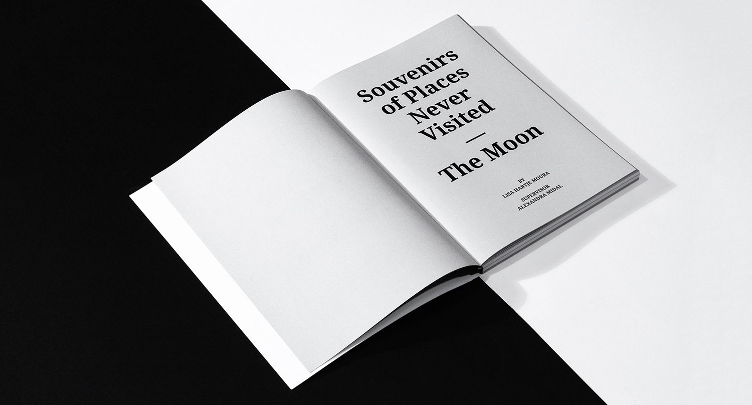 Master thesis book Souvenirs of Places Never Visited: The Moon
